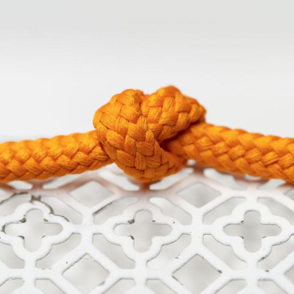 Polyester Rundkordel 7mm Orange