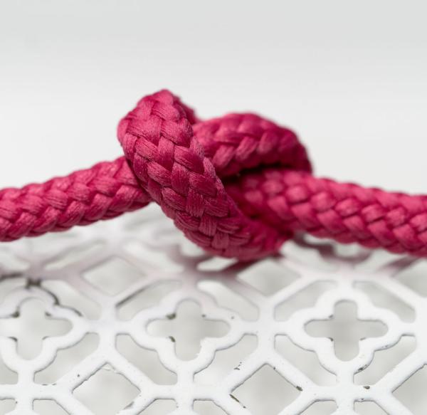 Polyester Rundkordel 7mm Pink