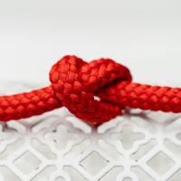 Polyester Rundkordel 7mm Rot