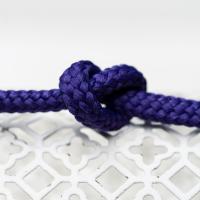 Polyester Rundkordel 7mm Violett