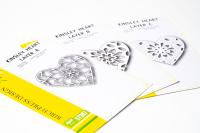 Birch Press Design Layer Craft Die Stanze - KINSLEY HEART