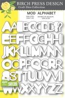 Birch Press Design Layer Craft Die Stanze - MOD ALPHABET