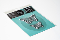 Birch Press Design - Gloriosa Butterfly Duo Outlines