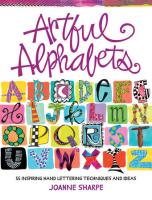 Buch - Artful Alphabets