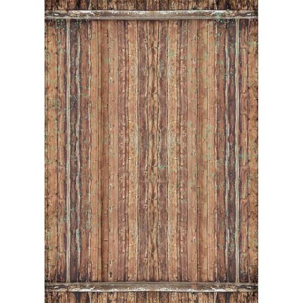Stamperia Reispapier A3 Amazonia Wood