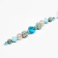 Design Elements Glass Bead Strand SEA BREEZE #7208