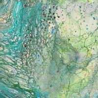 Baumwolle Fusion II SURGE Aqua