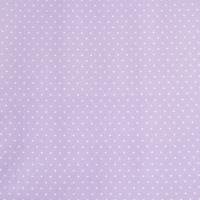 Beschichtete Baumwolle Glänzend Minipunkte Flieder