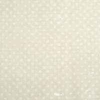 Beschichtete Baumwolle Glänzend Maxipunkte Ecru