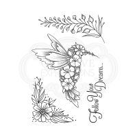 Creative Expressions Clear Stamp - Follow Your Dreams