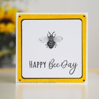 Creative Expressions Clear Stamp Set - Beauty & The Bee