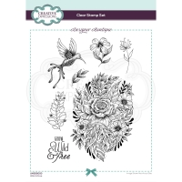 Creative Expressions Clear Stamp Set - Wild and Free