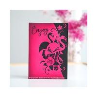 Creative Expressions Stanze - Paper Cuts Flamingo Summer Edger