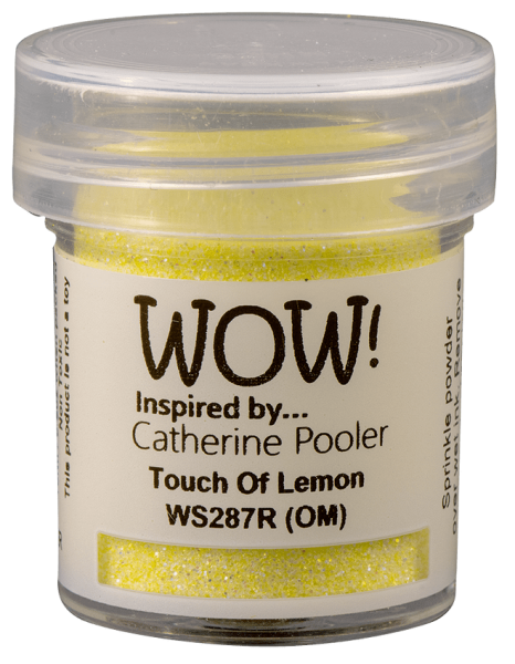 WOW! Embossingpulver Touch Of Lemon