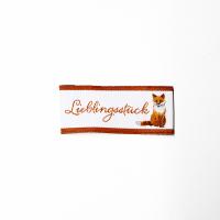 Acufactum Webetikette Lieblingsstück Fuchs