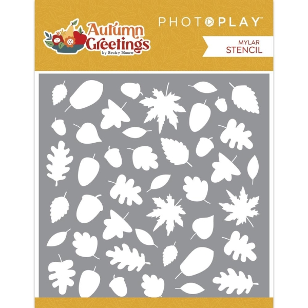 Photoplay Schablone - Autumn Greetings 15x15cm