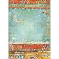 Stamperia Reispapier A3 Moon