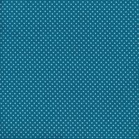 Au Maison Wachstuch Dots Dark Turquoise
