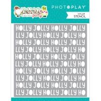 Photoplay Schablone - Holly Jolly 15x15cm