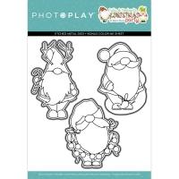 Photoplay Clear Stamp & Die Set Gnomies