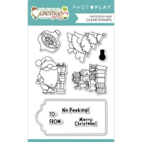Photoplay Clear Stamp Set - Christmas Morning
