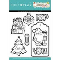 Photoplay Clear Stamp & Die Set - Christmas Morning