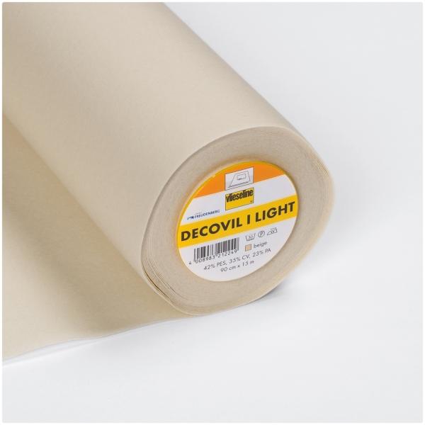 Decovil I light - Leichte aufbügelbare Einlage mit Lederähnlichem Griff