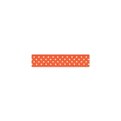Repsband Polka Dots, orange