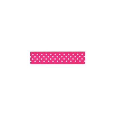 """Repsband """"Polka Dots"""", pink"""