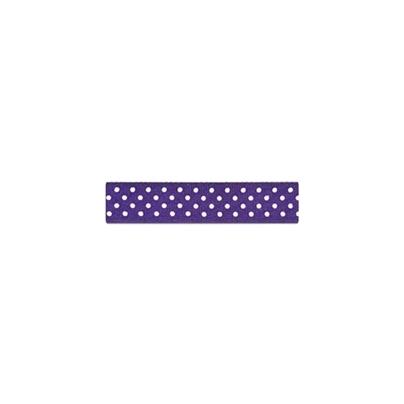 """Repsband """"Polka Dots"""", violett"""