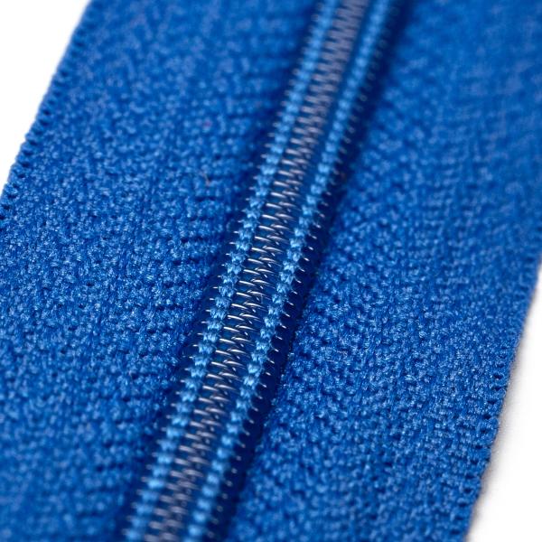 4mm Reissverschluss, blau