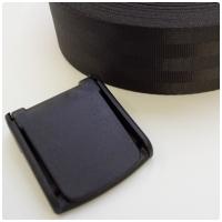 Klemmschnalle für Auto Gurtband, 50mm