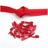6mm Reissverschluss, rot