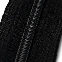 4mm Reissverschluss, schwarz