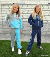 MAREN Mädchen Trainingsanzug Farbenmix Schnittmuster