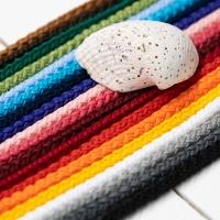 Polyester Rundkordel 4mm Weiss