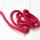 Polyester Rundkordel 4mm Pink