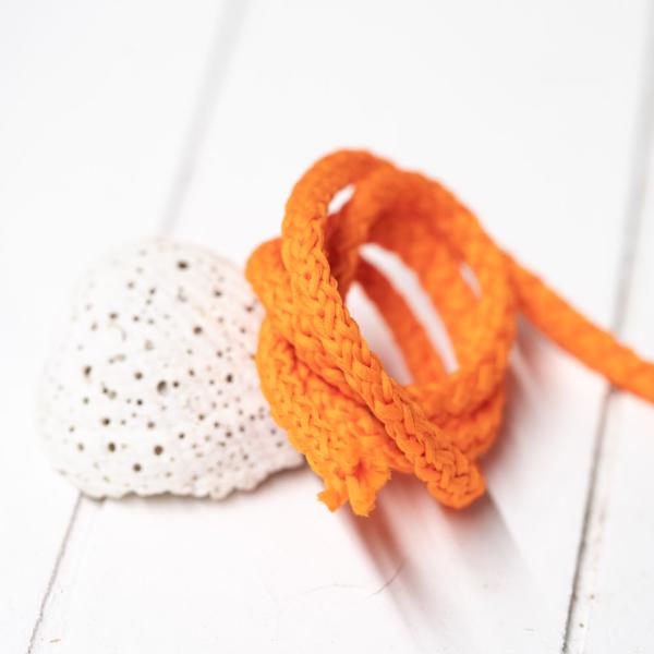 Polyester Rundkordel 4mm Orange
