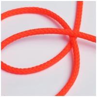 Polyester Rundkordel 4mm, neonorange