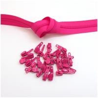 6mm Reissverschluss, pink