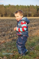 VIKTORIA Kinderweste Farbenmix Schnittmuster