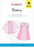 Tunika Bluse ROXY Farbenmix Schnittmuster
