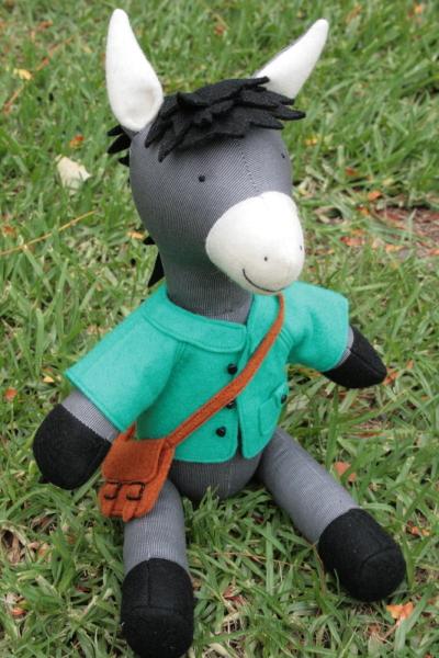 "Ric Rac Schnittmuster ""Reuben the donkey"""