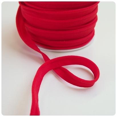 elastische Paspel, rot
