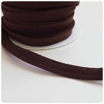 elastische Paspel, braun