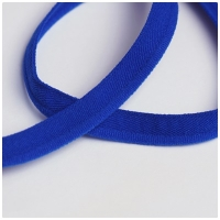 elastische Paspel, royalblau