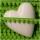 Baby Pomponborte Apfelgrün