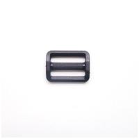 Versteller, doppelt, schwarz, 25 mm