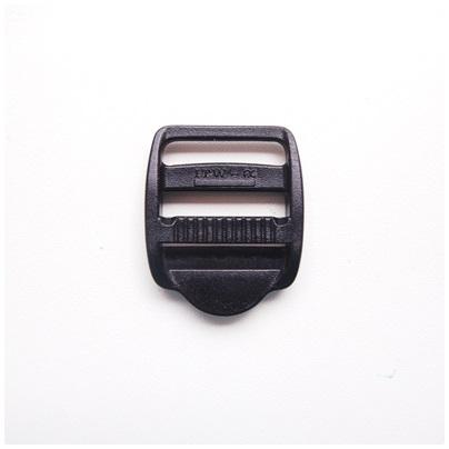 Versteller, doppelt mit Zähnchen, schwarz, 25 mm