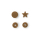 Prym Color Snaps in Sternform, Gold B11, 30 Stk.